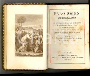 1885 PAROISSIEN ROMAIN Office dimanches et fetes Edition bijou MORIZOT