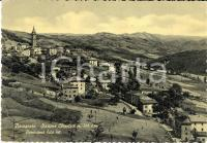 1962 BARAGAZZA (BO) Panorama paese e dintorni dal lato est *Cartolina FG VG
