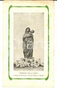 1904 CANDIA CANAVESE (TO) Santuario S. Stefano - Preghiera Madonna della Neve