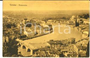 1915 ca VERONA Panorama con il fiume Adige *Cartolina postale FP NV