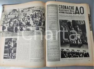 1936 O. ZOPPI Cronache illustrate dell'azione italiana in AO *Annata completa