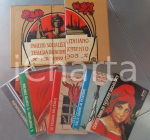 1992 Angelo MOLAIOLI Cento anni di tessere socialiste REPRINT *Ed. ARGOMENTI