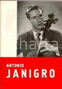 1951 Antonio JANIGRO violoncellista *Rassegna stampa PUBBLICITARIA