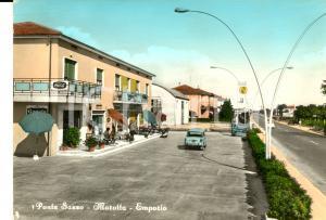 1960 ca MAROTTA PONTE SASSO (PU) Emporio *Cartolina VINTAGE Pubblicità COCA-COLA