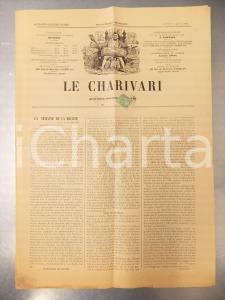 1901 LE CHARIVARI Trop parler nuit *Quotidien ILLUSTRE' NICOLSON