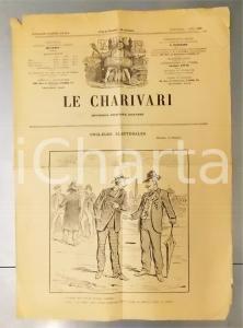 1901 LE CHARIVARI Couleurs électorales *Quotidien politique ILLUSTRE' DRANER