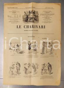 1901 LE CHARIVARI Actualités *Quotidien politique ILLUSTRE' dessins HENRIOT