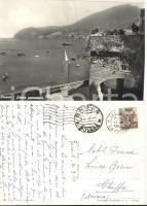 1963 LEVANTO (SP) Panorama *Cartolina alla nobile Luisa BESINI FG VG