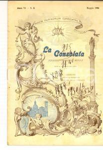1904 TORINO La Consolata - Pastorale del card. RICHELMY *Rivista anno VI n° 5