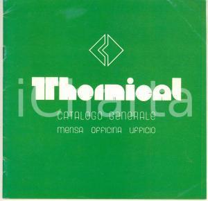 1960 ca GRANAROLO EMILIA (BO) Ditta THERMICAL*Catalogo mensa officina ufficio