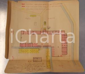 1944 RONSECCO (VC) Cascina FANTINO SUPERIORE *Planimetria ing. Giovanni FERRARIS