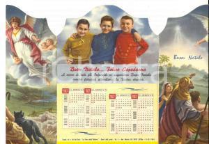 1962 PADOVA Orfanotrofio Antoniano Maschile *Biglietto finestra con calendario