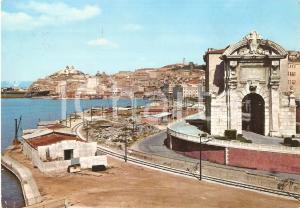 1959 ANCONA Panorama con PORTA PIA *Cartolina FG VG