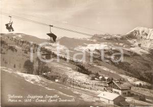 1960 ca SCOPELLO (VC) Alpe di MERA Piste da sci VALSESIA *Cartolina FG VG