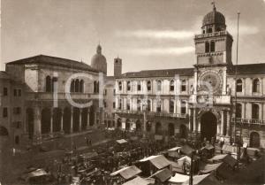 1955 ca PADOVA Piazza dei Signori Palazzo Capitanio *Cartolina ANIMATA FG NV