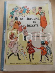 1938 PARIS LA SEMAINE DE SUZETTE 34e année -1er semestre *Rilegato in VOLUME
