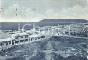 1960 MARINA DI CARRARA (MS) Stabilimenti balnerari *Cartolina FG VG