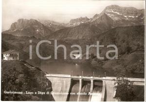 1960 ca MINUCCIANO (LU) Lago e diga di GRAMOLAZZO Garfagnano *Cartolina FG NV