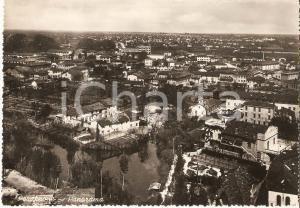 1951 PORDENONE Panorama della città dall'alto *Cartolina FG VG