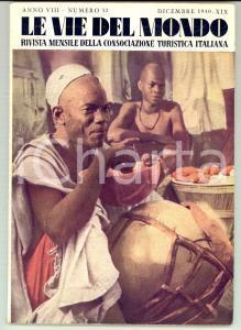1940 LE VIE DEL MONDO TCI Le ferrovie in AFRICA *Rivista anno VIII n°12