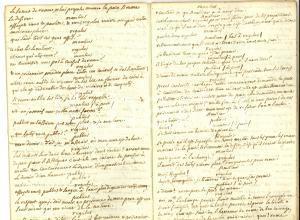 1770 ca METASTASIO REGULUS Pièce dramatique - Copia francese manoscritta