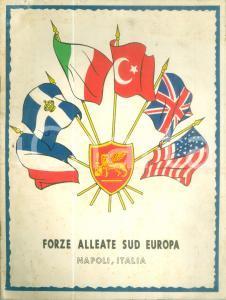 1960 NATO Forze Alleate SUD EUROPA *Opuscolo pubblicitario ILLUSTRATO