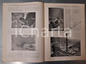 1927 MILANO Rivista Italiana Costruzioni Edili Lavori Pubblici Ponte sul BREMBO