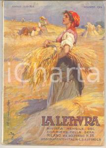 1914 LA LETTURA Paolo GIORDANI L'eremo del poeta esule *Rivista ILLUSTRATA