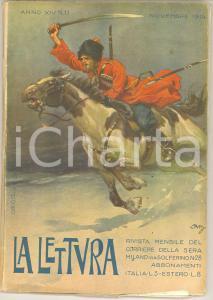 1914 LA LETTURA Paolo GIORDANI L'impero coloniale tedesco *Rivista ILLUSTRATA