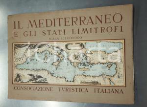 1945 ca CONSOCIAZIONE TURISTICA ITALIANA Mediterraneo e Stati limitrofi