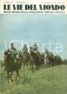 1941 LE VIE DEL MONDO Guido MANACORDA Arte sovietica *Rivista ILLUSTRATA