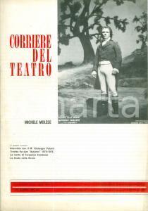 1976 CORRIERE DEL TEATRO Michele MOLESE Treviso fra due autunni *Rivista