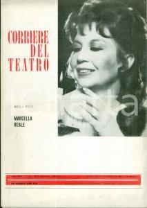 1974 CORRIERE DEL TEATRO Marcella REALE Amore inedito di Giacomo PUCCINI Rivista
