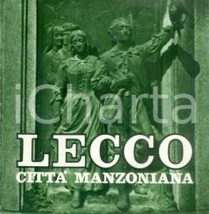 1970 ca LECCO Città manzoniana - Guida turistica letteraria ILLUSTRATA 24 pp.