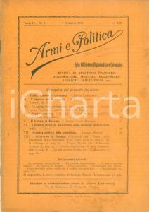 1915 ARMI E POLITICA Ettore BRAVETTA L'Impresa dei DARDANELLI *Rivista