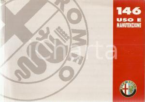 1995 ALFA ROMEO Libretto uso e manutenzione ALFA 146 - 4° Edizione