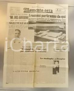 1948 MOMENTO SERA Progetto definitivo completamento Stazione TERMINI *Giornale
