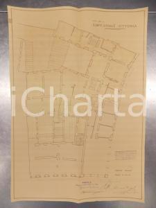 1930 MILANO Ing. DE DOMINICIS Edificatrice VITTORIA Progetto di casa civile
