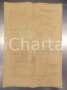1930 MILANO Ing. DE DOMINICIS Edificatrice VITTORIA Progetto casa Via PASQUIROLO