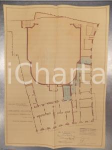 1930 MILANO DE DOMINICIS Edificatrice VITTORIA Secondo piano cinema SAN CARLO