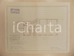 1940 ca MILANO Ferruccio BIGI Rifacimento piano terreno casa Via FIORI CHIARI