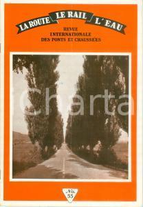 1955 ca REVUE INTERNATIONAL Pontes et Chaussées Coordination moyens de transport