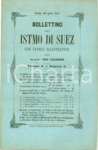 1857 BOLLETTINO DELL'ISTMO DI SUEZ 8 Rivalità commerciali nel MEDITERRANEO