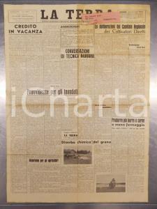 1951 ALESSANDRIA LA TERRA Pro inondati della Bormida *Rivista anno XXXIII n° 4