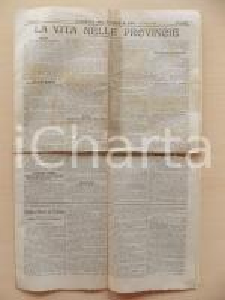1901 GAZZETTA DEL POPOLO La vita nelle Provincie Notizie aneddoti