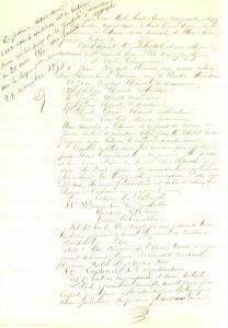 1855 ECHENON (F) Bail à ferme d'immeubles indivis famille CHENOT *Manuscrit