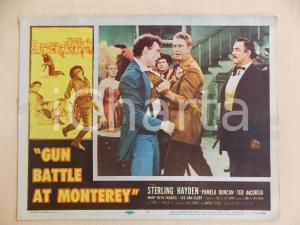 1957 GUN BATTLE AT MONTEREY Rissa tra Sterling HAYDEN Lee VAN CLEEF *Manifestino