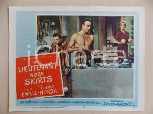 1956 LIEUTENANT WORE SKIRTS Tom EWELL Les TREMAYNE Sheree NORTH *Manifestino