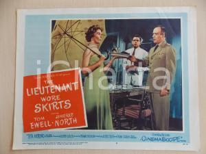 1956 LIEUTENANT WORE SKIRTS Tom EWELL Sheree NORTH Cena *Manifestino LOBBY CARD