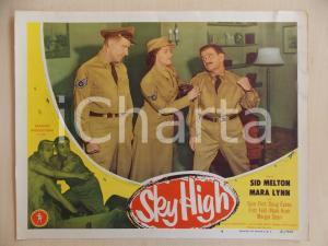 1951 SKY HIGH Rissa tra Sid MELTON e Doug EVANS *Manifestino LOBBY CARD